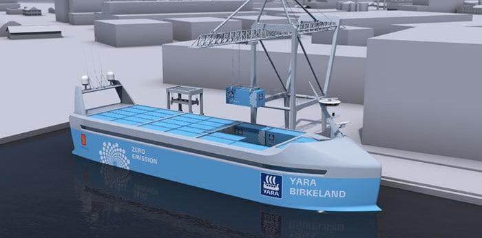 новый корабль для контейнеров