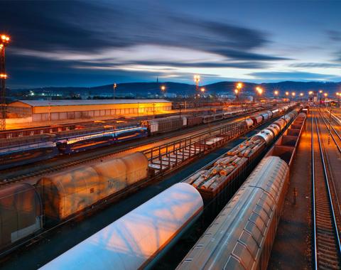 перевозка железной дорогой